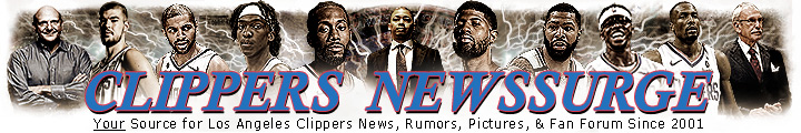 Los Angeles Clippers News Surge Banner