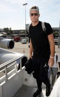 Blake Griffin Going Up a Ramp at China Airport 2015