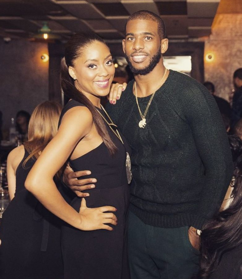 Picture Of Chris Paul And His Wife Jada Together Clippers News Surge Nba Gallery Los Angeles Clippers Pictures Photos