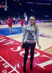 Clipper Fan Rachel Demita at Staples Center 2015