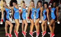 Clipper Spirit Girls Show Off Their Red Shoes