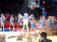 Clippers Spirit Help Introduce Chuck the Condor