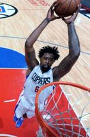 DeAndre Jordan Flies in for the 2 handed Tomahawk Dunk 2016