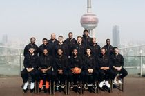 Clippers Team Photo 2015 in Shanghai China