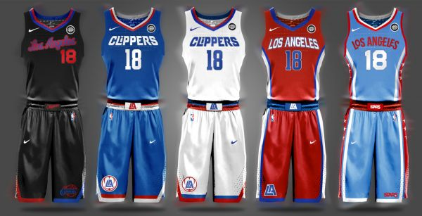 finest selection ddd10 406dc New Clippers Jersey Concept